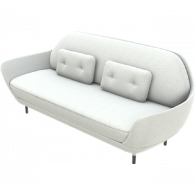 Sofa Favn JH3 | Divina Melange / Light Grey 1 Fabric