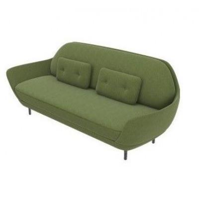 Sofa Favn JH3 | Divina Melange / Dark Olive 1 Fabric