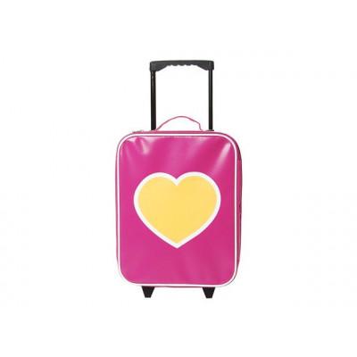 Trolley Fluo Heart Pink