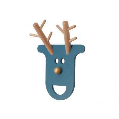 Coat Rack O Deer | Petrol Blue