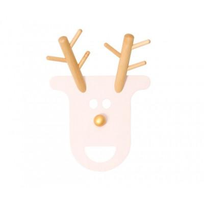 Coat Rack O Deer | Powdery Pink