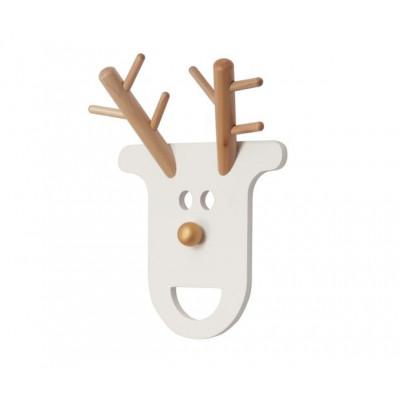 Coat Rack O Deer | White