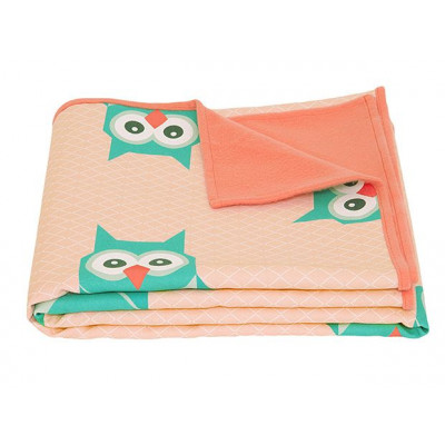Blanket Geo Forest | Owl