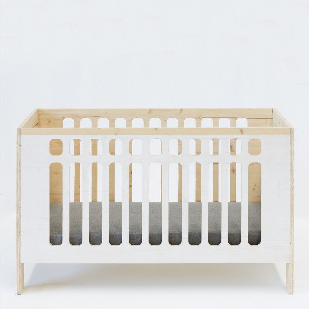 JO Crib   White Wash
