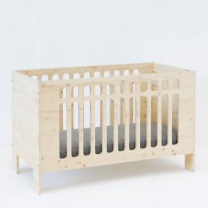 JO Crib | Natural Wood