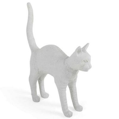 Lampe Jobby Die Katze | Weiß