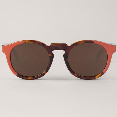 Jordaan Sunglasses   Coral & Vintage Tortoise