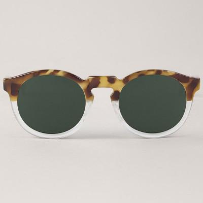 Jordaan Sunglasses   High Contrast Tortoise & Transparant