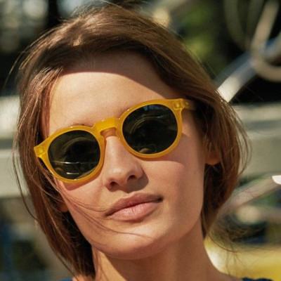 Jordaan Sunglasses   Honey
