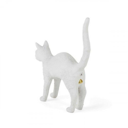 Lamp Jobby The Cat | White