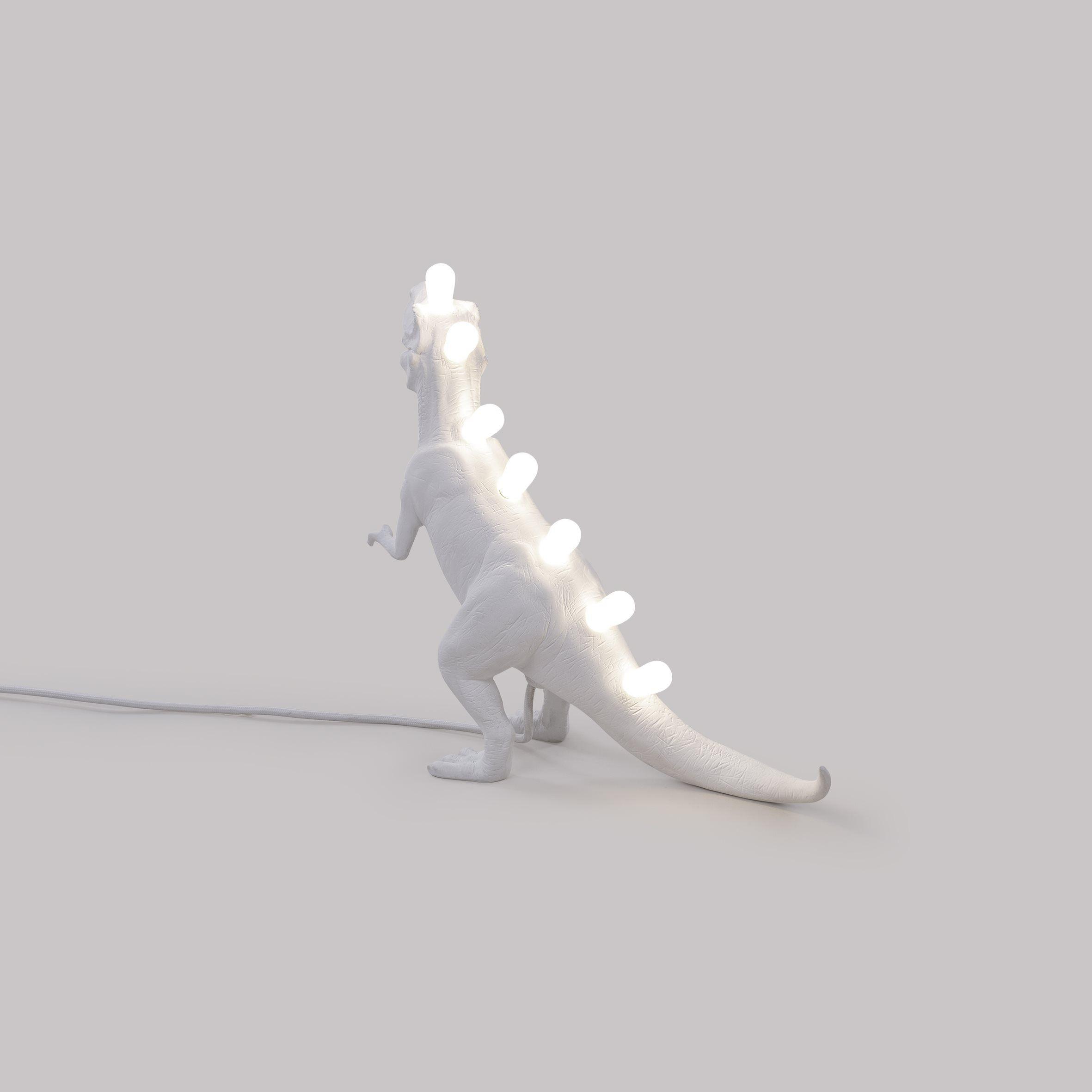 Lamp Jurassic T-Rex   White