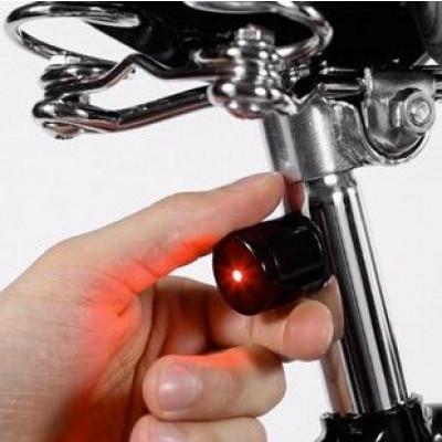 Magnetische Fahrradlampen-Kit Lucetta | Anthrazit