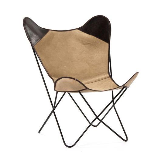 Kenia Arm Chair   Brown