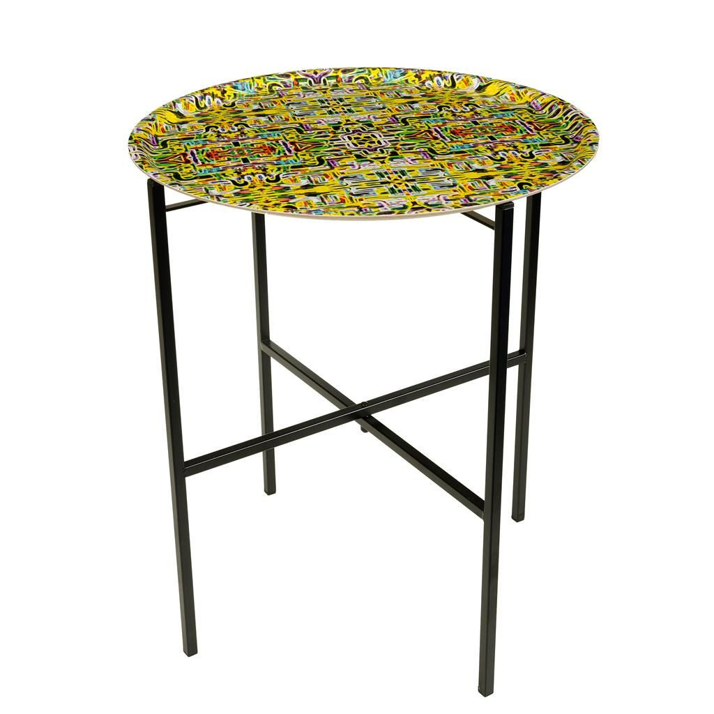Sidetabel Jungle Fever Carre-Yellow