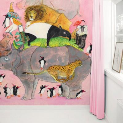 Wallpaper Stories | Jumping Pinguins