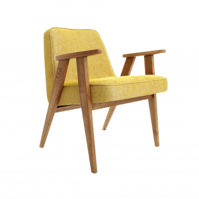 Sessel 366 Junior | Loft Senf & Dunkle Eiche