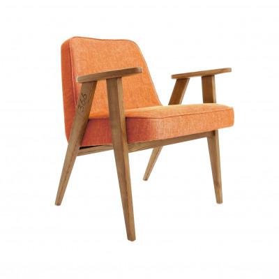 Sessel 366 Junior | Loft Mandarine & Dunkle Eiche