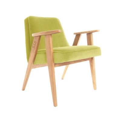Sessel 366 Junior | Samnt Lemon & Dunkle Eiche