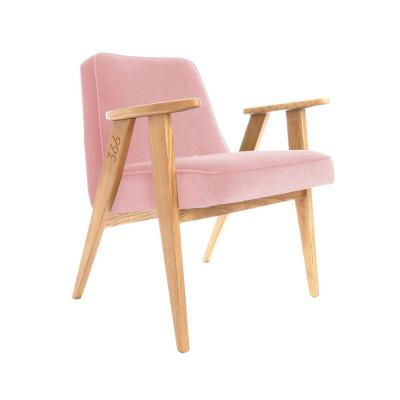 Sessel 366 Junior | Samnt Rosa & Dunkle Eiche