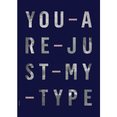 Just My Type Poster | Just My Type