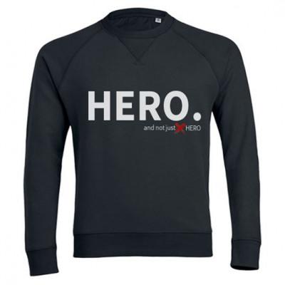 Sweatshirt Hero | Black