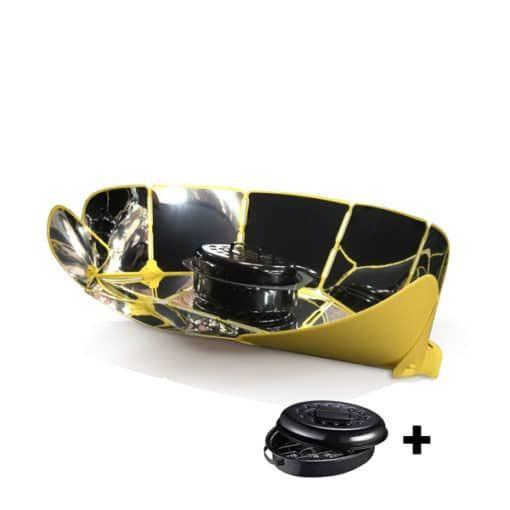 Solarkocher Sungood Pack + Topf