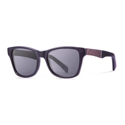 Sonnenbrille London   Schwarz + Mattschwarzes Gestell