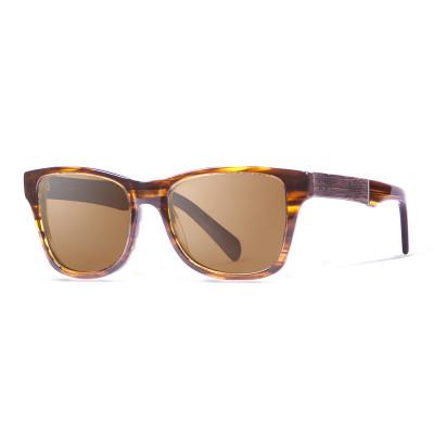 Sonnenbrille London   Braun + Brauner Rahmen