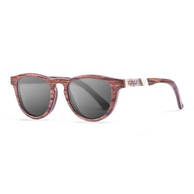 Sonnenbrille Donostia   Schwarz + Brauner Rahmen