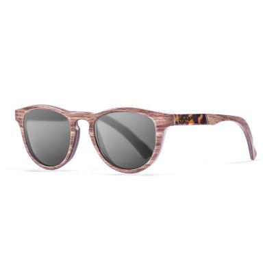 Sonnenbrille Donostia   Schwarz + dunkelbraunes Gestell