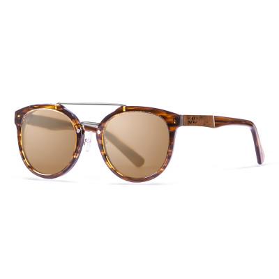 Sonnenbrille San Francisco   Braun + Brauner Rahmen