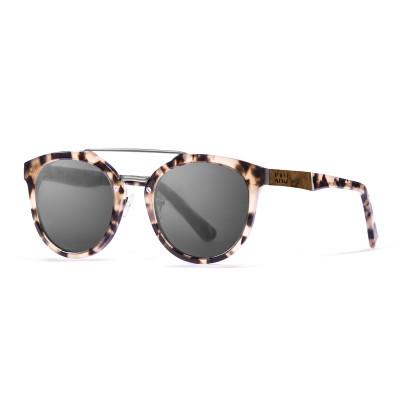 Sonnenbrille San Francisco   Schwarz + Schildkrötengestell