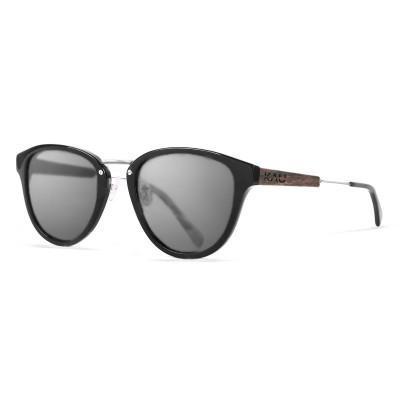 Sonnenbrille Venezia   Schwarz + glänzend schwarzer Rahmen