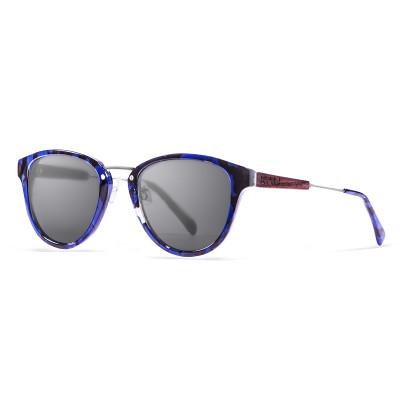 Sonnenbrille Venezia   Schwarz + Schwarz & Blauer Rahmen
