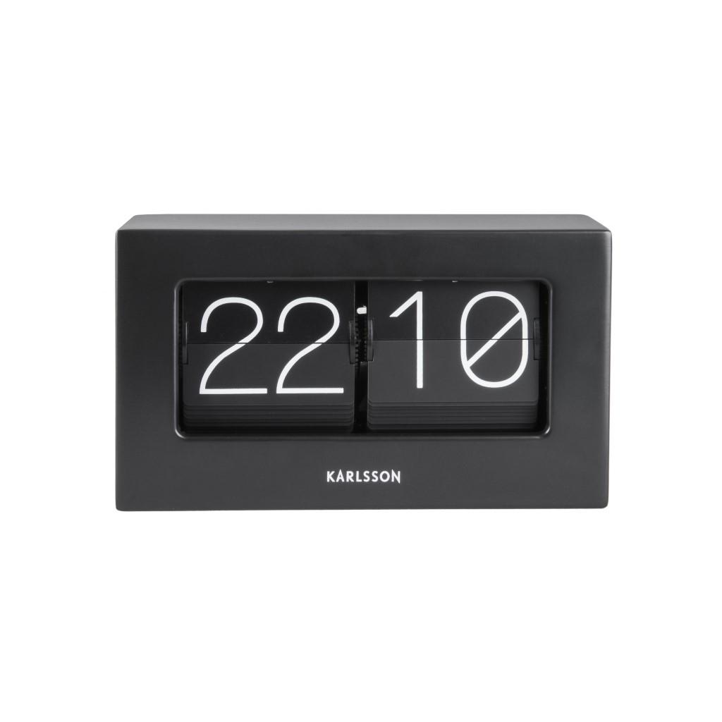 Uhr Boxed Flip | Schwarz
