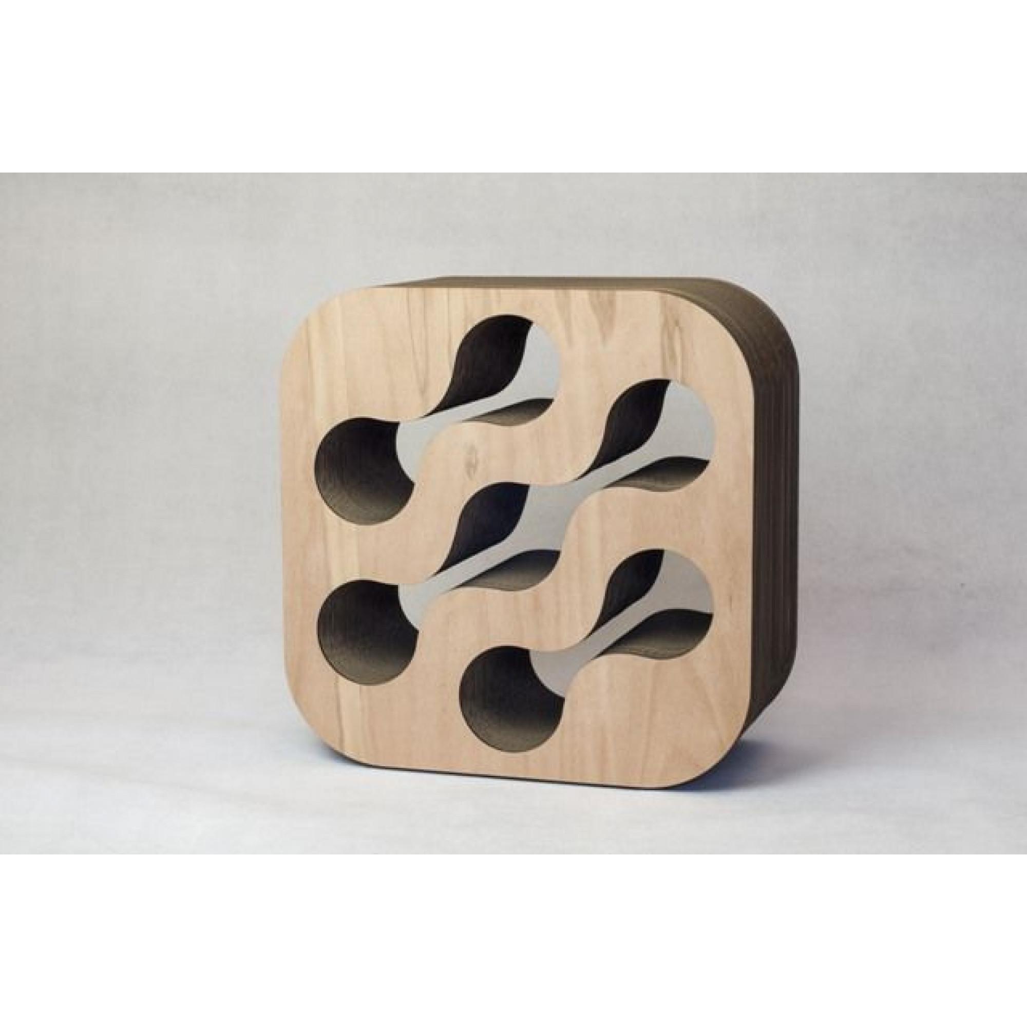 Cardboard Wine Rack | Natural