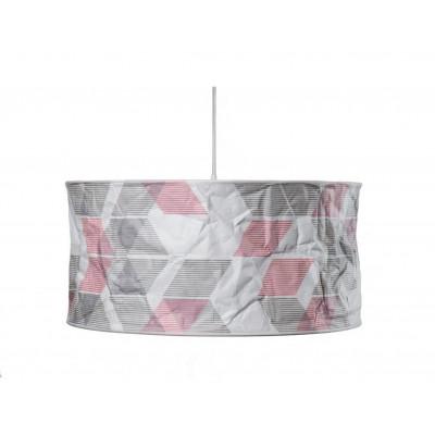 Lineworks Lampenschirm | Rot & Grün