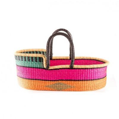 Basket Moses Kala + Foam Mattress & Cotton Sheet