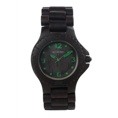 WeWood Watch Kale Black/green