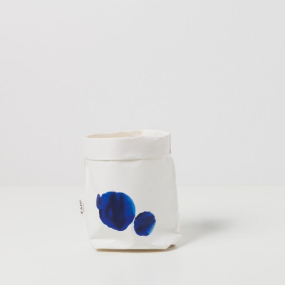Little Blue Watercolor Bag | Small