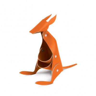 Schreibtischorganisator Känguru | Orange