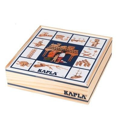 "Set of 2 ""Kapla - 100 plank"" boxes"