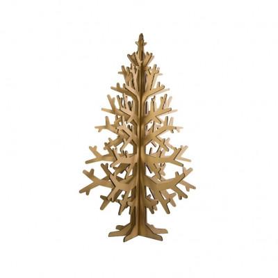 Karton-Weihnachtsbaum Medium | Natürlich