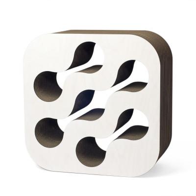 Weinregal aus Karton   Weiß