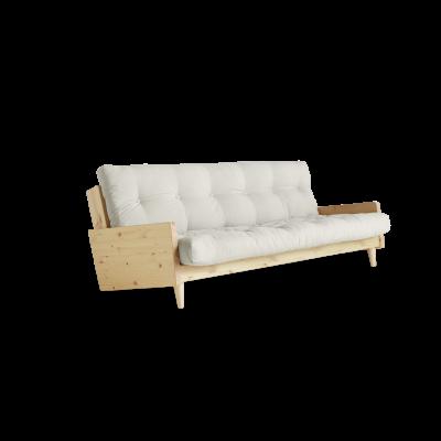 Sofabed Indie | Natural Frame + Natural Mattress