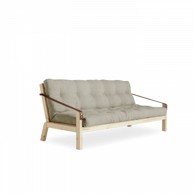 Sofabed Poetry | Natural Frame + Linen Mattress