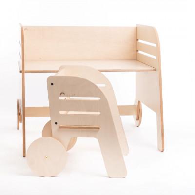 Kinderschreibtisch & -stuhl Wheel
