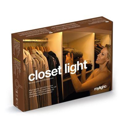 Lichtleiste mit Bewegungssensoren Schranklicht