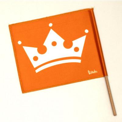 Kattuska Crowned Flag
