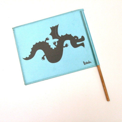 Kattuska Dragon Flag